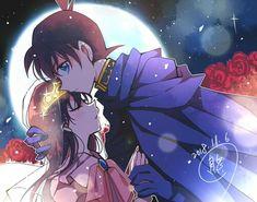 Anime Cupples, Otaku Anime, Anime Love, Ran And Shinichi, Kudo Shinichi, Conan Comics, Detektif Conan, Detective Conan Ran, Detective Conan Wallpapers