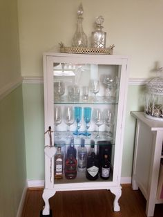 Shabby chic drinks cabinet