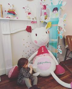 Goûter au pays des #licornes @lilliputiens #lilliputiensblogday #louise #babyplok #Ploketlesmascottes