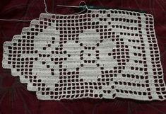 This Pin was discovered by Nur Crochet Boarders, Crochet Edging Patterns, Crochet Diagram, Square Patterns, Filet Crochet, Baby Knitting Patterns, Crochet Stitches, Stitch Patterns, Crochet Curtains