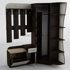 Прихожая 17 - Купить мебель для коридора в Броварах, лучшая цена, от производителя Тиса, готовая, отзывы