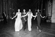 The secret history of fashion's ultimate showdown Remember that night Yves Saint Laurent and Halston competed on the catwalk? / The Battle of Versailles, 1973 / #YSLhalston