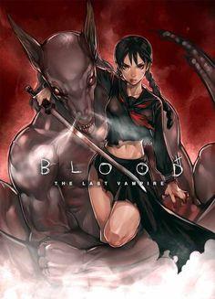 Blood: The Last Vampire hitowa | Blood The Last Vampire - Saya (blood The Last Vampire)
