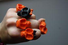 Halloween Skull rings / Bagues Halloween Crâne