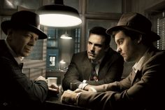 anthony luke's not-just-another-photoblog Blog: Behind The Scenes with Annie Leibovitz's Film Noir Photoshoot
