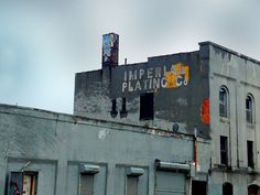 Imperial Plating Co. ghost sign, Brooklyn