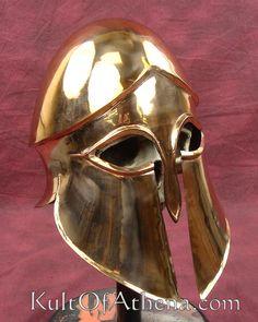 Greek Bronze Corinthian A Helmet