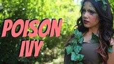 Poison Ivy Makeup Tutorial + Fight Scene!?!? - YouTube