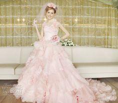 Island Bridal Color Wedding Dresses Collection | Wedding Inspirasi