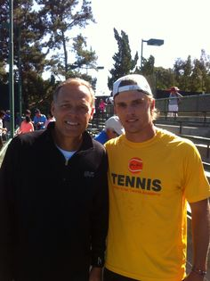 Keith-Patrick Crowley (on the picture with Leif Shiras after his doubles final at the Laguna Niguel Pro ITF yesterday) has already arrived in Sacramento, CA where he will face Mico Santiago in the first round of qualifications at the Sacramento Challanger. Good luck Keith! #keithpatrickcrowley #atp #challenger #sacramentochallenger #tennis #johankriektennisacademy