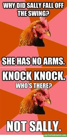 Might be offensive, but I laugh every time even though I shouldn't