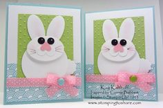 Punch Art Easter Cards