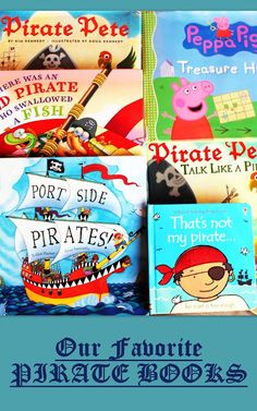 Pirate Activities: Our Top Ten Pirate Books for Preschoolers. Preschool Pirate Theme, Pirate Activities, Preschool Books, Literacy Activities, Preschool Curriculum, Homeschool, Summer Activities, Kindergarten, Educational Activities For Preschoolers