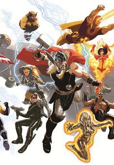Avengers by Daniel Acuña