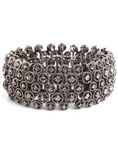 Smoky Crystal Bracelet