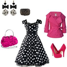I think this outfit would be great for a night out. I need to find a guy that would wear a 50's Inspired outfit with me