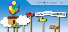 Acá narramos historias, pintamos y animamos sueños, retratamos ideas y filmamos grandes héroes.  www.juanpulgoso.com
