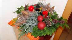 DIY kerststukjes maken, Weihnachts deko, Christmas decorations  dl 2 mrsT45andabit
