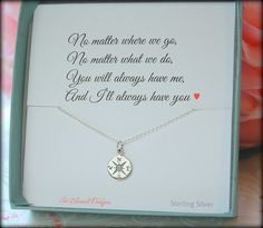 Best friends compass necklace, best friends necklace, Bridesmaid gift, going away gift, graduation gift