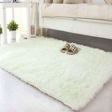 Пушистые ковры - Skiding лохматый коврик столовая ковер коврики белый мохнатые коврики шевелюры ковры APJ(China (Mainland))