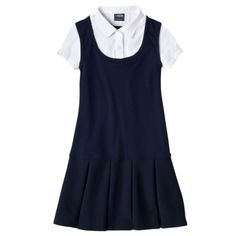 b8a99c3f7 French Toast® Girls School Uniform 2-For Pleated Dress - Navy School Uniform  Pants