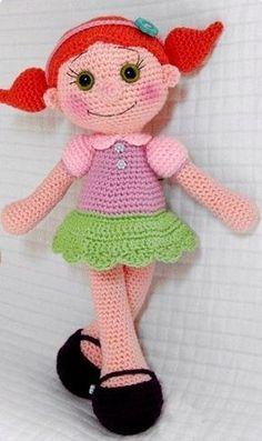 Mesmerizing Crochet an Amigurumi Rabbit Ideas. Lovely Crochet an Amigurumi Rabbit Ideas. Cute Crochet, Crochet For Kids, Crochet Crafts, Crochet Baby, Crochet Projects, Knit Crochet, Crochet Amigurumi, Crochet Doll Pattern, Amigurumi Doll
