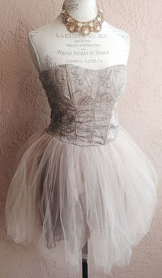 I like this cut for my body... Brocade corset mocha nude blush tulle tutu gypsy.. But with something to cover my arms and legs lol..  - Sana