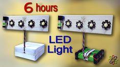 Diy Electronics, Electronics Projects, Led Diy, Emergency Lighting, Gadgets, Homemade, Lights, Circuits, Bass