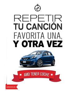 Cuando vas a bordo de tu #Nissan no hay nada que te lo impida.