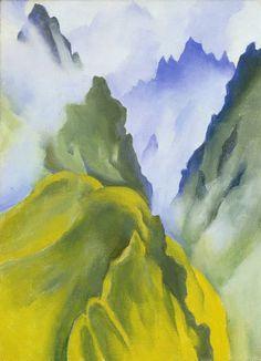 Georgia O'Keefee: Machu Picchu I