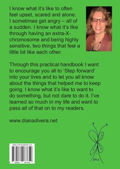 Back cover of my practical handbook 'Step forward'