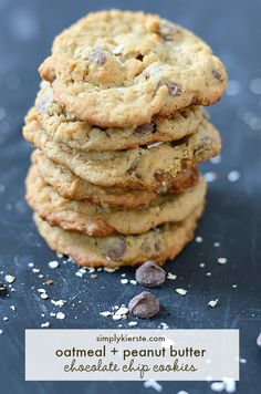 Oatmeal Peanut Butter Chocolate Chip Cookies might just be the perfect cookie!