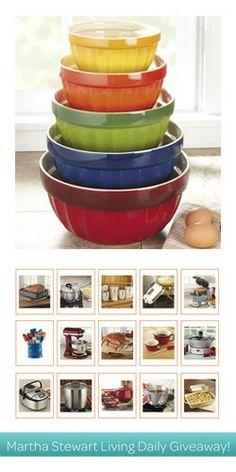 Martha Stewart Living Daily Giveaway