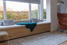 New Homes, Bench, Storage, Furniture, Caravan, Holland, Home Decor, Dutch Netherlands, Homemade Home Decor