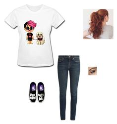 """Wearing His Merch: Mark"" by maryvarleyrox ❤ liked on Polyvore featuring Yves Saint Laurent"