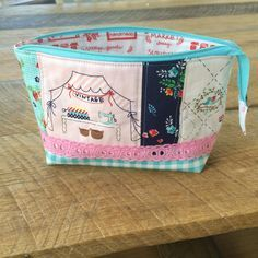 "I love making zipper pouches – any shape and any size! They are perfect for every situation and every occasion!! This is a tutorial for how to make a ""full access"" or ""ope…"