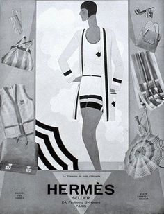 Hermes Advertisement ●●fuzz sez: Bragging here--I used to have an Hermes English show saddle (don't even *think* of the price ). Mode Vintage, Vintage Ads, Vintage Designs, Hermes Vintage, Art Deco Illustration, Illustrations, Art Nouveau, Vintage Outfits, Vintage Fashion