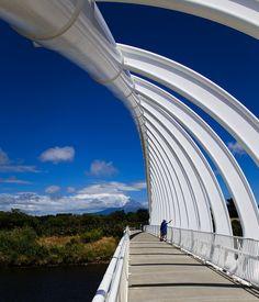 Ta Rewa Rewa Bridge, New Plymouth Taranaki New Zealand