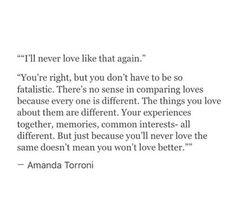 ~Amanda Torroni