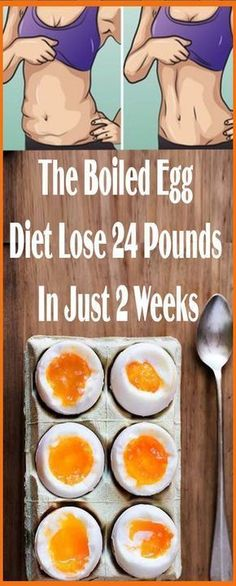 The Boiled Egg Diet – Lose 24 Pounds In Just 2 Weeks!!! - Remedy Guide