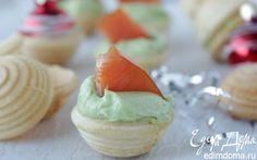 Тарталетки с авокадо и рыбой | Кулинарные рецепты от «Едим дома!»