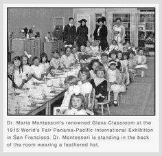 Montessori Glass Classroom op 24 september 2014 op de boulevard van Noordwijk. Kom montessori educatie in het echt zien.