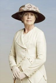 Mrs. Crawley--quite possibly my favorite character...after the Dowager Countess of course
