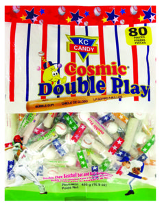 Cosmic Double Play Bubble Gum