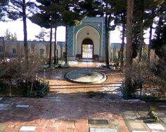 """Courtyard Down"" in Shrine Mazar Sultani (Bidokht [or Beydokht])"
