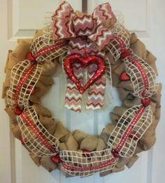 Heart wreath show showcased by FB Hobby Lobby
