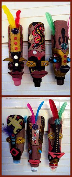 MÀSCARA AFRICANA Carnestoltes és temps de màscares però sabem realment perquè les usen? Hi ha moltes cultures que les utilitzen no ...
