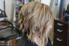 The Texture BOB!  Haircolor,  Cut & Style by @mariaariashair   #hairbloggers #beautyblogger #btcpics #hairinspiration #thecoloristmag #blonde #blondehair #beforeandafter #livedinhair #livedincolor #modernsalon #haircolor #haircolorist #highlights #hairdressermagic #american_salon #beautylaunchpad #loreal #lorealprous #renefurterer #rfans #hairtrends #imallaboutdahair #hotonbeauty  #fortlauderdalehair  #fortlauderdalehairstylist