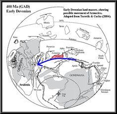 The Amazon History Map