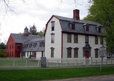 Dwight House, Springfield, Massachusetts, c.1754. Relocated to Historic Deerfield.